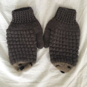 Accessories - Hedgehog Mittens